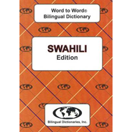 English-Swahili & Swahili-English Word-to-Word Dictionary (BOK)