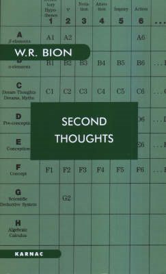 Second Thoughts (BOK)