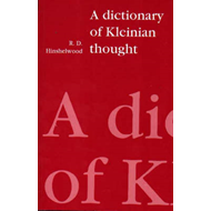 A Dictionary of Kleinian Thought (BOK)