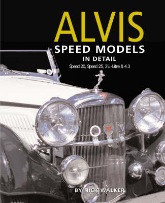 Alvis Speed Models in Detail (BOK)