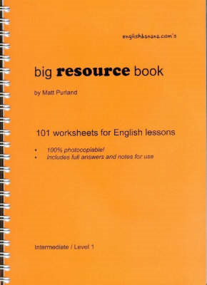 Big Resource Book: 101 Worksheets for English Lessons (BOK)