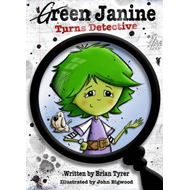 Green Janine Turns Detective (BOK)