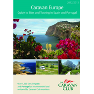 Caravan Europe Guide to Sites and Touring in Spain and Portugal, 2012/2013: 2012/2013 (BOK)