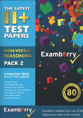11+ Test Papers - Non-Verbal Reasoning Pack 2 (BOK)