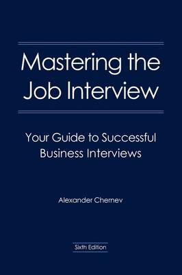 Mastering the Job Interview (BOK)