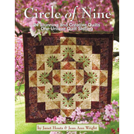 Circle of Nine: 24 Stunning and Creative Quilts, One Unique Quilt Setting (BOK)