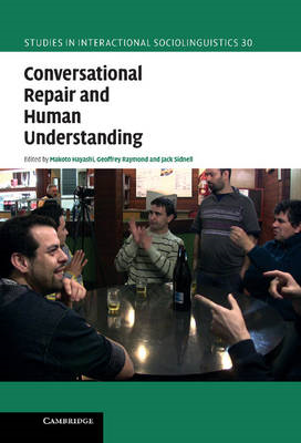 Conversational Repair and Human Understanding (BOK)
