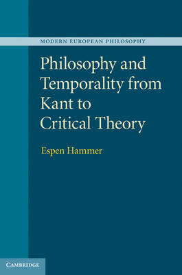Philosophy and Temporality from Kant to Critical Theory (BOK)