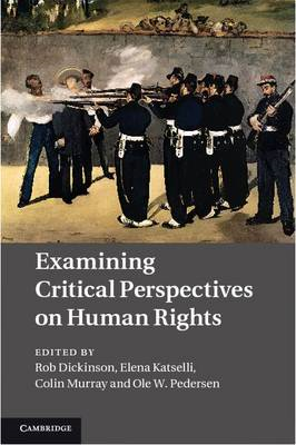 Examining Critical Perspectives on Human Rights (BOK)