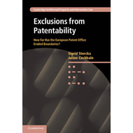 Exclusions from Patentability: How Far Has the European Patent Office Eroded Boundaries (BOK)