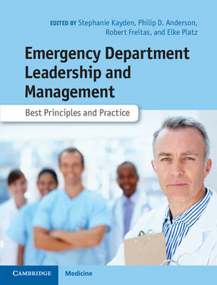 Emergency Department Leadership and Management (BOK)
