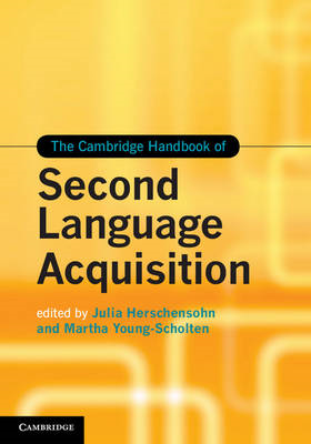 Cambridge Handbook of Second Language Acquisition (BOK)