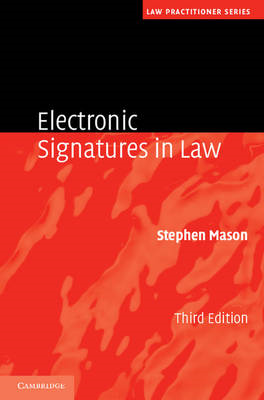 Electronic Signatures in Law (BOK)