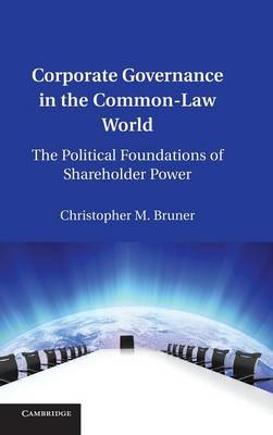 Corporate Governance in the Common-Law World (BOK)