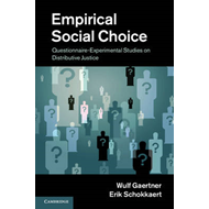 Empirical Social Choice: Questionnaire-Experimental Studies on Distributive Justice (BOK)