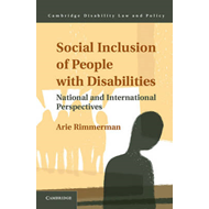 Social Inclusion of People with Disabilities: National and International Perspectives (BOK)