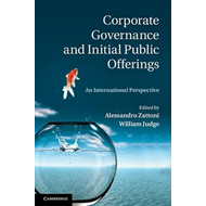 Corporate Governance and Initial Public Offerings (BOK)