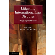 Litigating International Law Disputes (BOK)
