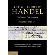 George Frideric Handel: Volume 2, 1725-1734 (BOK)