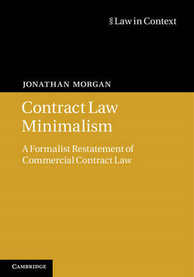 Contract Law Minimalism (BOK)
