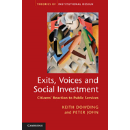 Exits, Voices and Social Investment: Citizens' Reaction to Public Services (BOK)