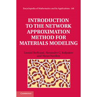Introduction to the Network Approximation Method for Materials Modeling (BOK)