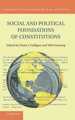 Social and Political Foundations of Constitutions (BOK)