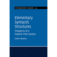 Elementary Syntactic Structures (BOK)