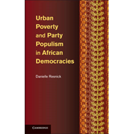 Urban Poverty and Party Populism in African Democracies (BOK)