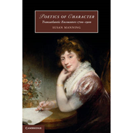 Poetics of Character: Transatlantic Encounters 1700-1900 (BOK)
