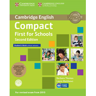 Compact First for Schools Student's Pack (Student's Book wit (BOK)