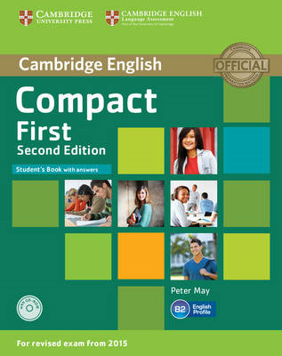 Compact First Student's Book with Answers with CD-ROM (BOK)