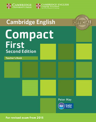 Compact First Teacher's Book (BOK)