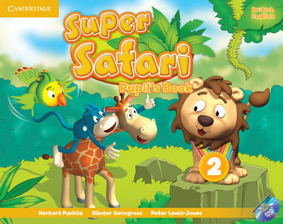 Super Safari Level 2 Pupil's Book with DVD-Rom (BOK)