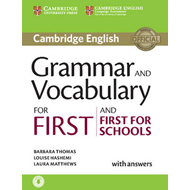 Grammar and Vocabulary for First and First for Schools Book (BOK)