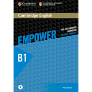 Cambridge English Empower Pre-Intermediate Workbook Without (BOK)
