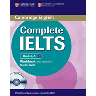 Complete IELTS Bands 4-5 Workbook with Answers with Audio CD (BOK)