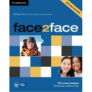 Face2face Pre-intermediate Workbook without Key (BOK)