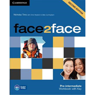 face2face Pre-intermediate Workbook with Key (BOK)