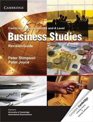 Cambridge International AS and A Level Business Studies Revi (BOK)