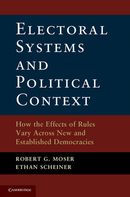 Electoral Systems and Political Context (BOK)