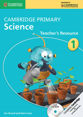 Cambridge Primary Science Stage 1 Teacher's Resource with CD (BOK)