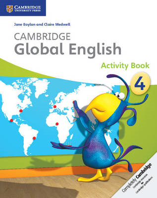Cambridge Global English Stage 4 Activity Book (BOK)