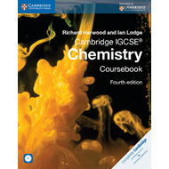 Produktbilde for Cambridge IGCSE (R) Chemistry Coursebook with CD-ROM (BOK)