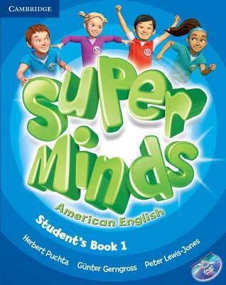 Super Minds American English Level 1 Student's Book with DVD (BOK)