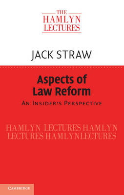 Aspects of Law Reform: An Insider's Perspective (BOK)