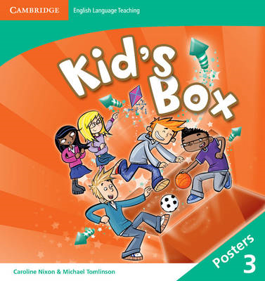 Kid's Box Level 3 Posters (8) (BOK)