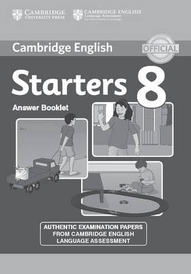 Cambridge English Young Learners 8 Starters Answer Booklet (BOK)