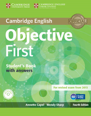Objective First Student's Book with Answers with CD-ROM (BOK)