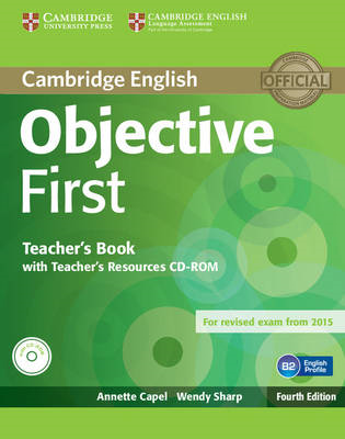 Objective First Teacher's Book with Teacher's Resources CD-R (BOK)